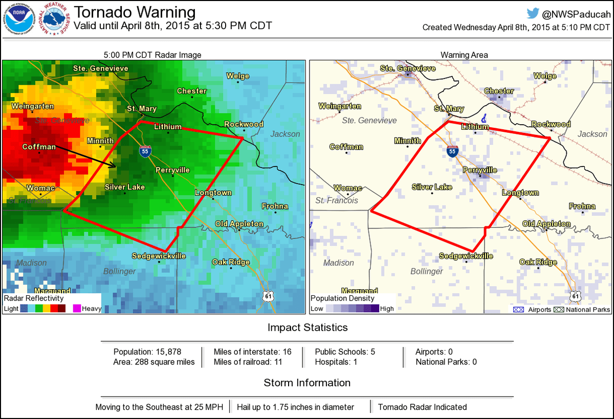 hight resolution of tornado warning including perryville mo silver lake mo lithium mo until 5 30 pm cdt