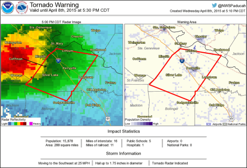 small resolution of tornado warning including perryville mo silver lake mo lithium mo until 5 30 pm cdt