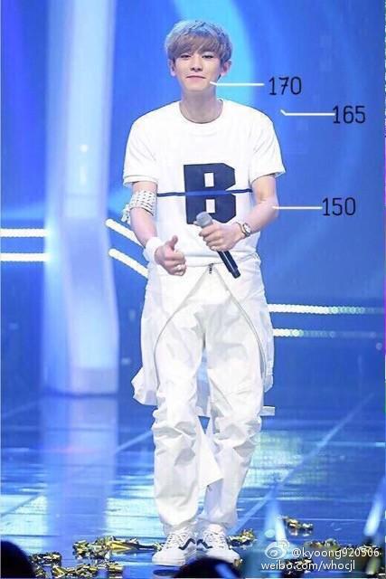 Chanyeol Height : chanyeol, height, 큥부심, ૢ(❛◡❛✿), Twitter:,