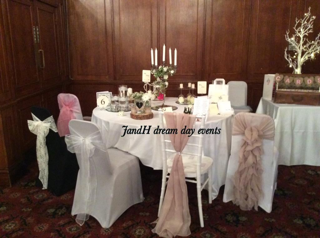 wedding chair covers tamworth plastic design new j h dream day events on twitter our sashes hoods ruffle
