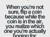 "Stacey Jackson on Twitter: ""When in doubt... flip a coin ..."