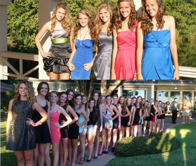Olive On Twitter Homecoming Freshman Year Vs Senior Year Idk I Guess We Made Some Friends F0 9f 98 82 F0 9f 92 9c T Co Spet44xoaz