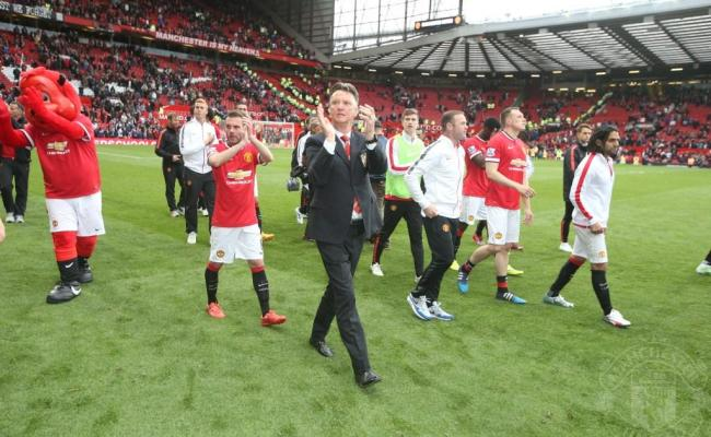 Manchester United On Twitter Pic Louis Van Gaal And The