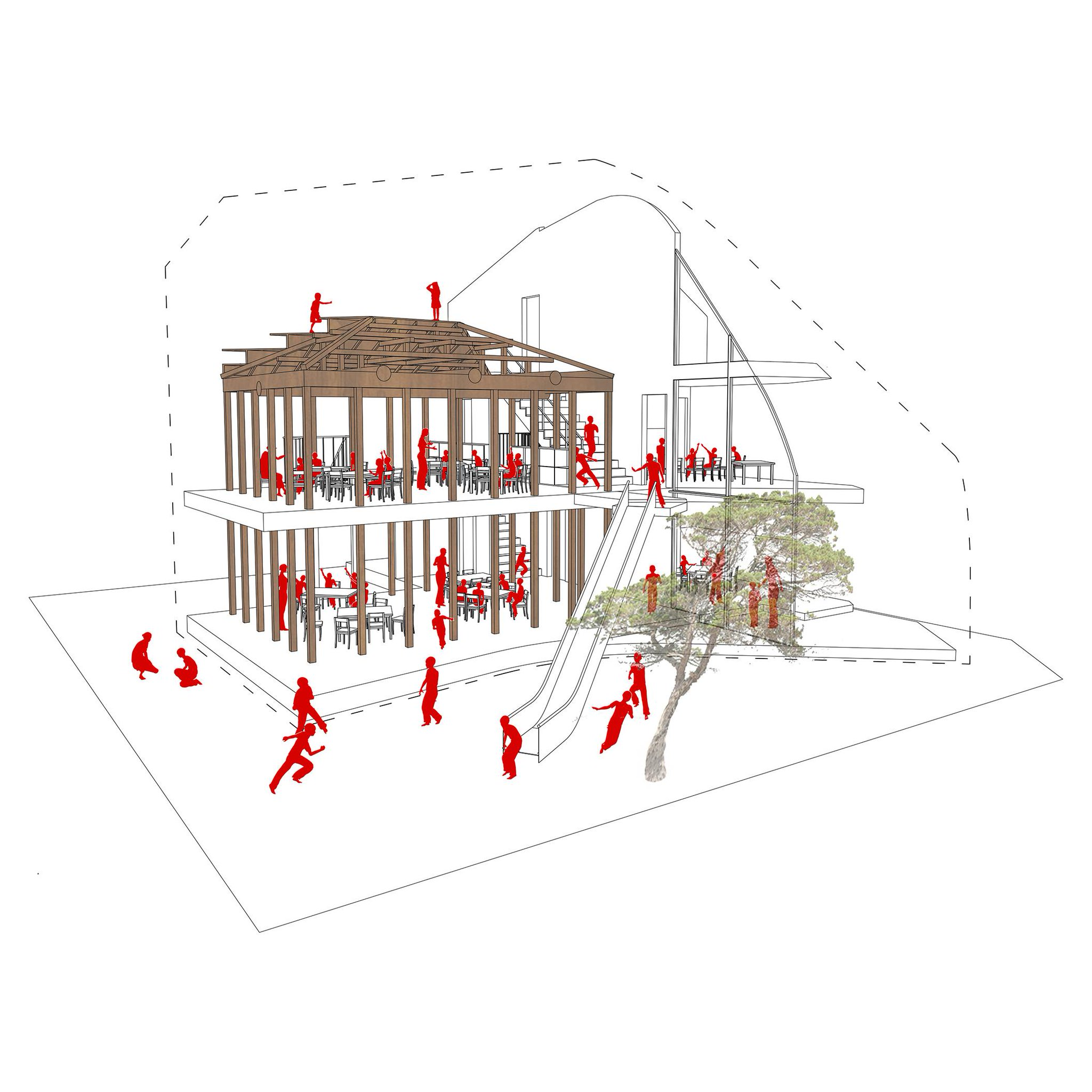 architecture section diagram minn kota plug wiring mad architects on twitter quotelevation and