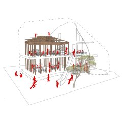Architecture Section Diagram Labeled Of The Face Mad Architects On Twitter Elevation And Clover House Our First Project In Japan Design Drawing