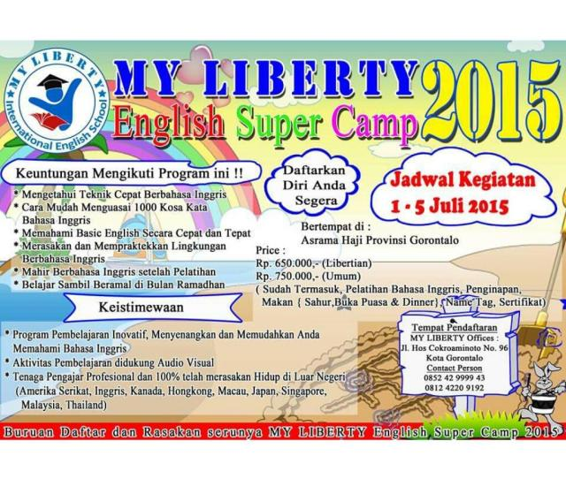 Ichkoem On Ayo Gabung Bersama Kami English Super Camp  Miss It And Regret It Or Join Us And Have Fun Together Http T Co Hflboxehvb
