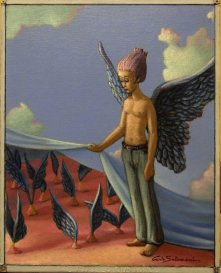 "carlo salomoni on Twitter: ""My #Angels metaphysician paintings in ..."