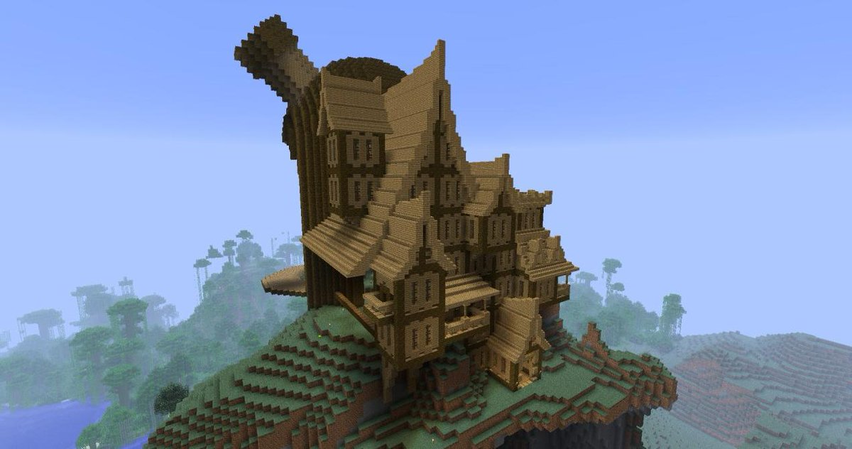 Minecraft Creations on Twitter Some really cool house styles in Minecraft httptco