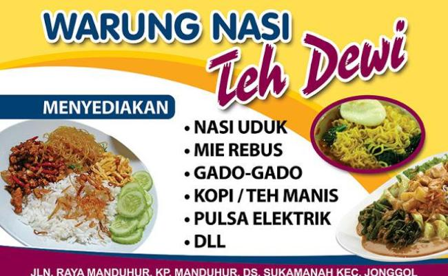 40+ Most Popular Contoh Banner Nasi Uduk Betawi