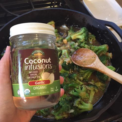 Now Foods Coconut Infusions with Garlic