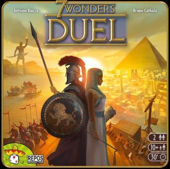 Portada definitiva de 7 Wonders: Duel