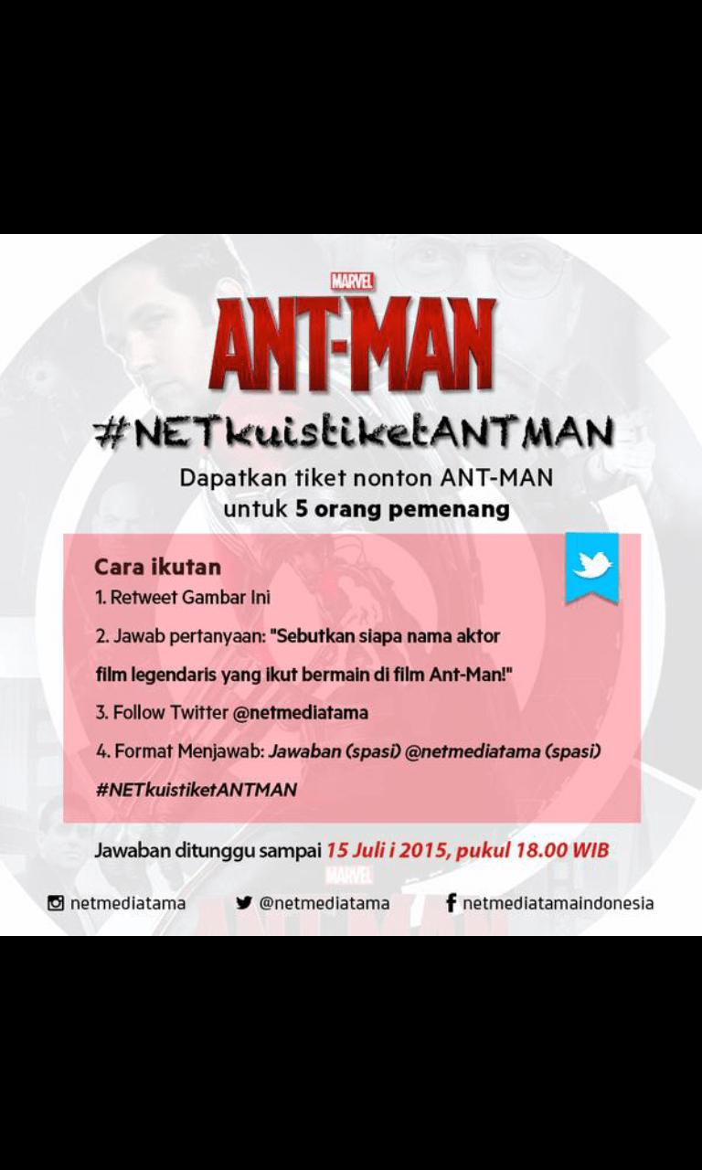 Nonton Film Ant Man 2 : nonton, Christian, Twitter:, @netmediatama, Http://t.co/tSlJM1N5qv