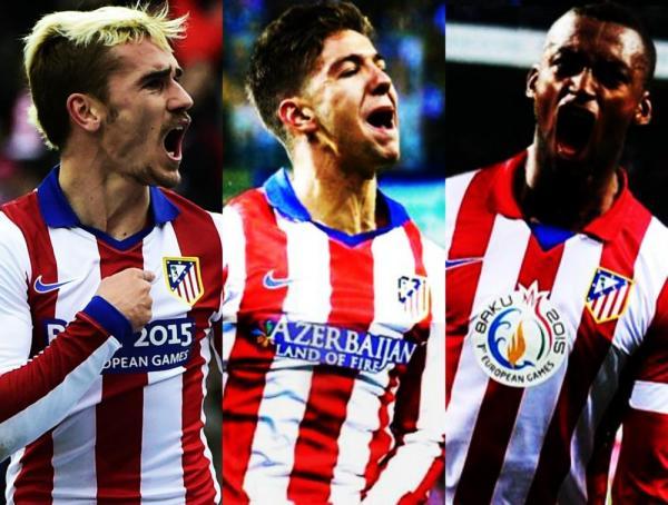 [Galería de valores] El valor actual de la delantera del Atlético: Vietto-Griezmann-Jackson (en millones de euros) 3