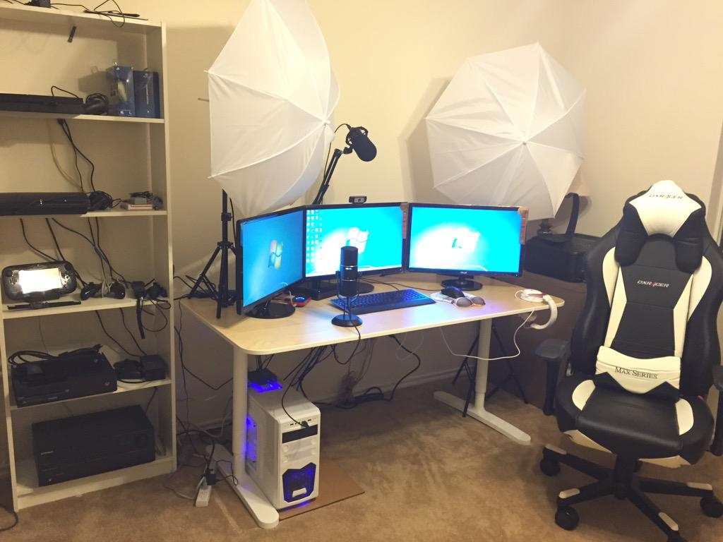 Misskyliee on Twitter Check out my new streaming setup