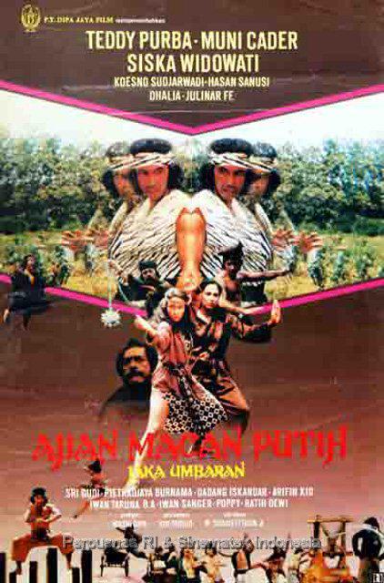 "Ajian Macan Putih : ajian, macan, putih, FILM_Indonesia, Twitter:, ""Film, AJIAN, MACAN, PUTIH, Sharieffudin, 1982),, Dibintangi, Teddy, Purba, (Foto:, Perpusnas, Sinematek), Http://t.co/nViQP4okIO"""