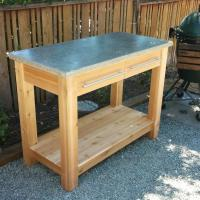 Outdoor Kitchen Prep Table - Sciatic