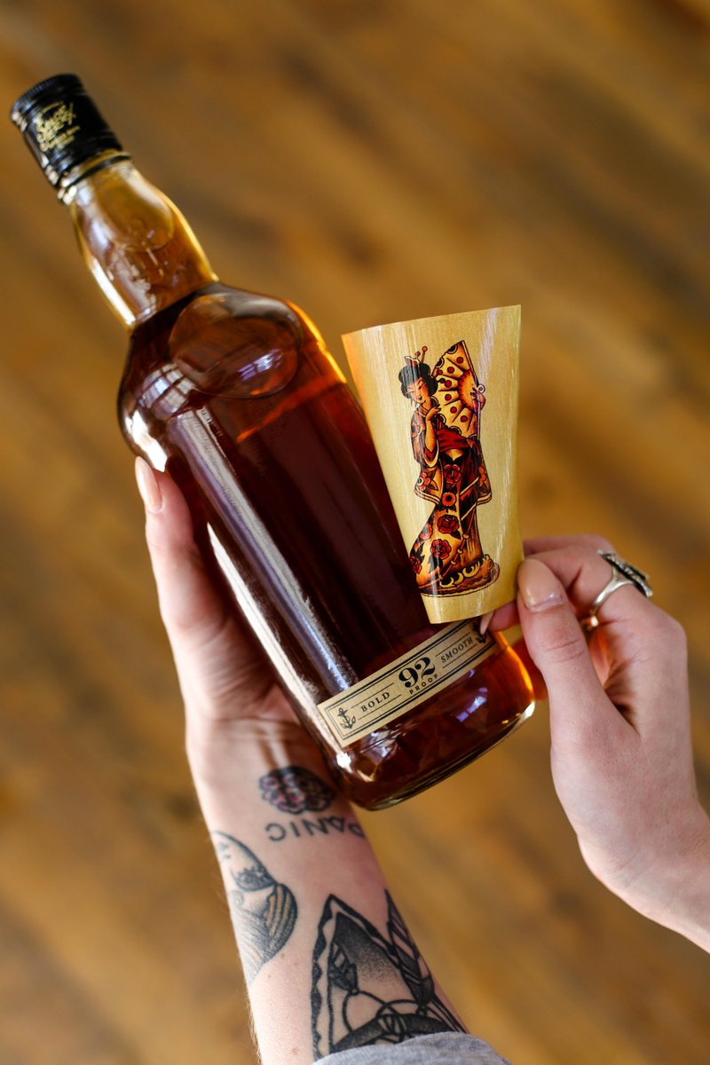 Sailor Jerry Stickers : sailor, jerry, stickers, Sailor, Jerry, Twitter:, Labels, Bottles, Stickers., You're, Welcome., Http://t.co/9gINnAGIYV