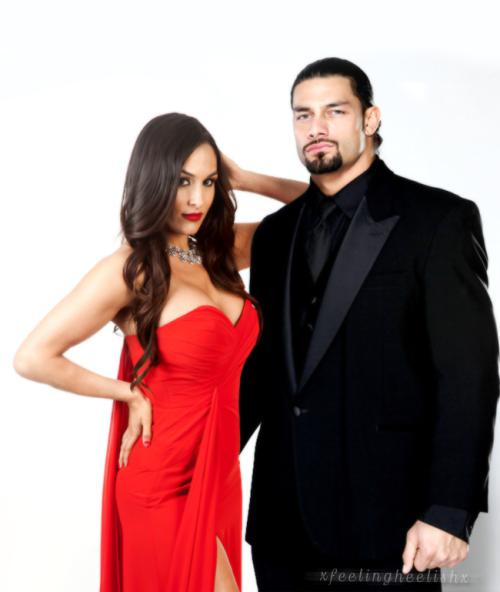roman reigns nikki on