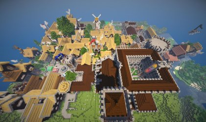 Epic Minecraft Medieval City 1