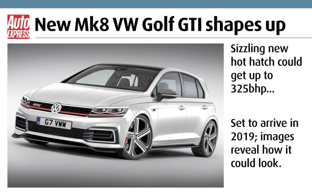 medium resolution of exclusive images reveal how mk8 vw golf gti could look could get up to