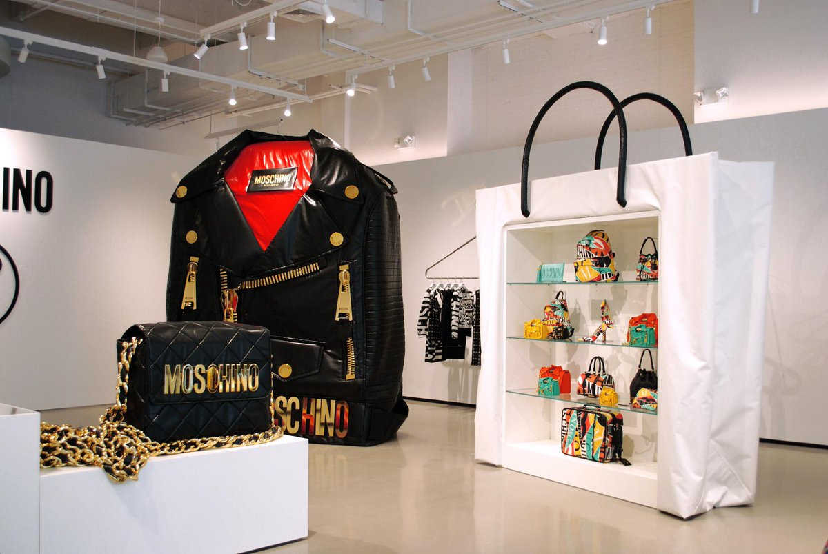 """Moschino On Twitter: """"The New Moschino Boutique In New"""
