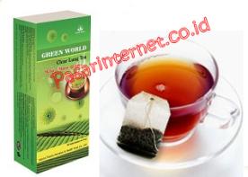 teh untuk masalah pernafasan dan paru - paru anda green world clearlung tea