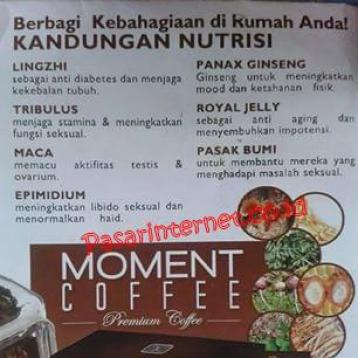 Kandungan Moment coffee