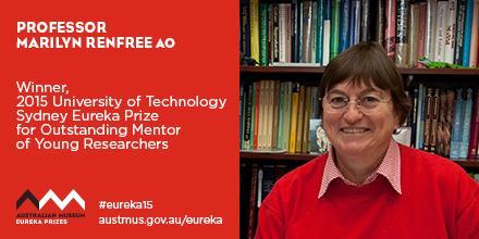 Professor Marilyn Renfree wins Eureka Prize