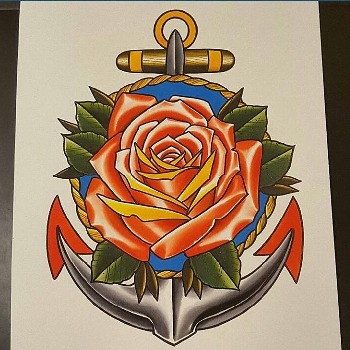 anchor rose on twitter