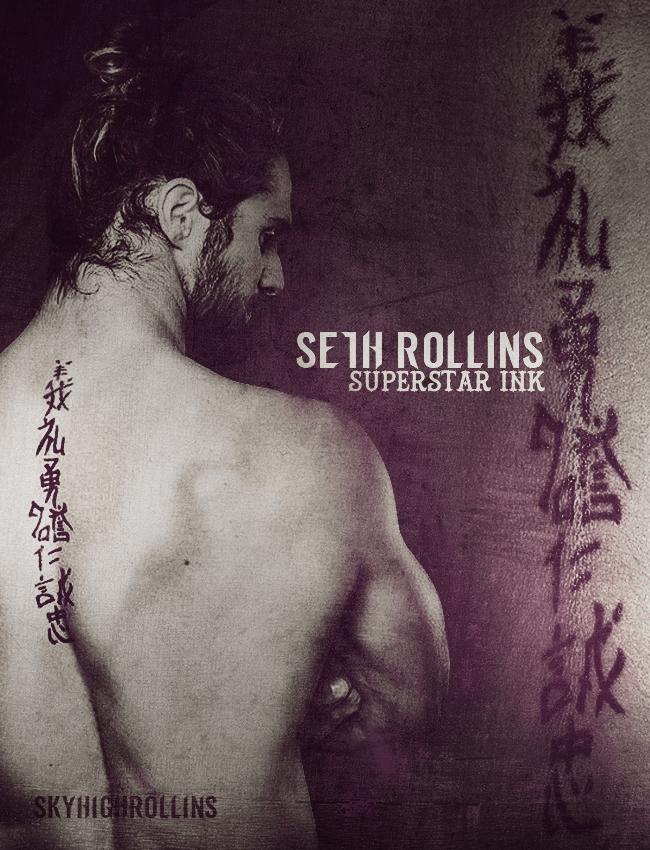 Wwe Seth Rollins Tattoo