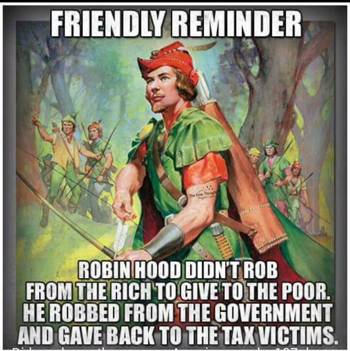 Image result for robin hood tax collector