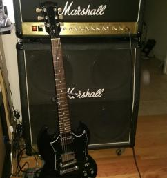 2002 gibson sg special and a jcm 2000 dsl about as classic as it gets  [ 768 x 1024 Pixel ]