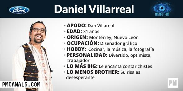 Daniel Villarreal - Participante Big Brother