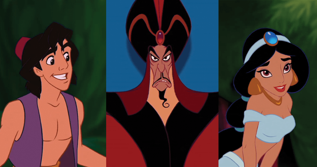 ALSO ON @GMA: The voices of Aladdin, Jasmine, & Jafar are on in an #Aladdin tribute and reunion!