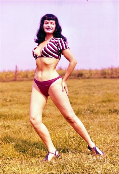 bettie page color # 80