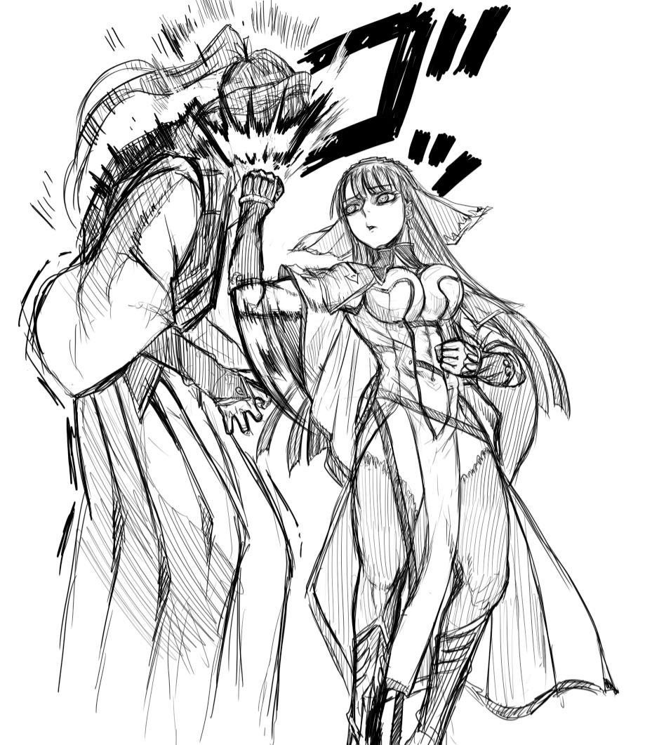 【FateGO】荊軻の絵師 高橋慶太郎さんの描くジャンヌがかっこいい! -page2 | ゲーまと