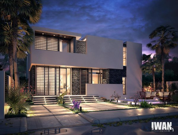 "Iwan Design Studio Twitter ""#modern #villa - #qatar #"
