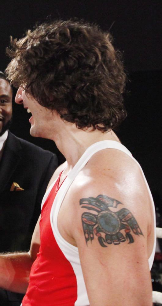 Justin Trudeau Tattoo : justin, trudeau, tattoo, Canada's, Trudeau, Leader