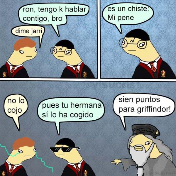 La mejor viñeta de Harry Potter
