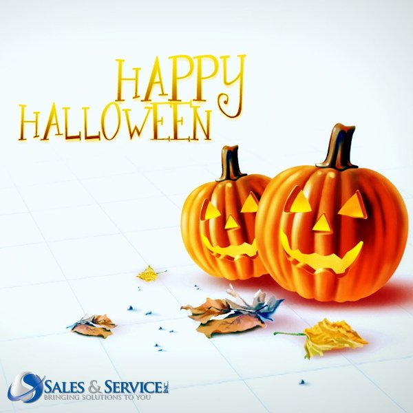 "Happy #Halloween! 👻 🎃 Have a ""spooky"" day full of ""tricks and treats""!"