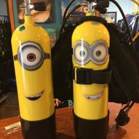 "PADI on Twitter: ""Loving these #minions scuba tank designs ..."