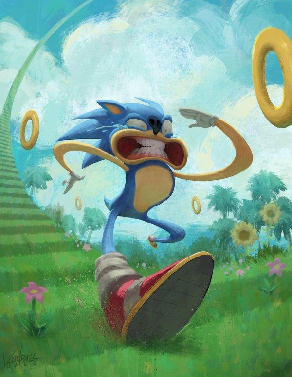 deviantART Sonic Fan Art