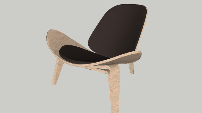 chair design sketchup leather reclining chairs with footstool on twitter lounge by carlhansen son 3dwarehouse 3d interiordesign https t co 4duil9hc83