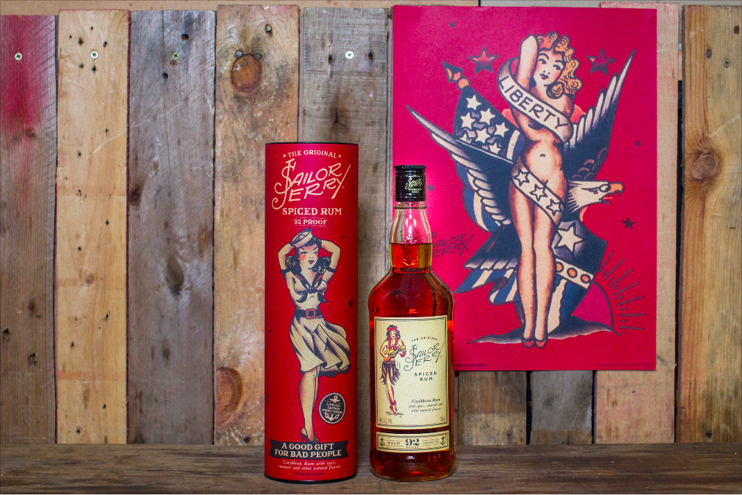 limited edition sailor jerry poster