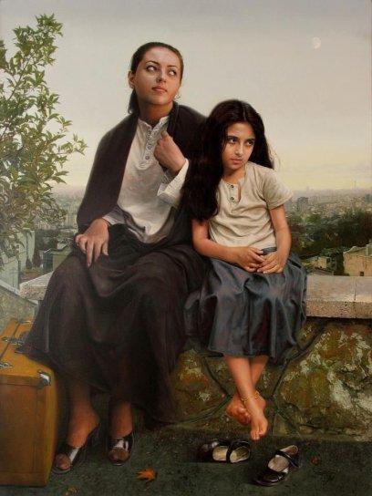 "tennūrī on Twitter: ""İranlı ressam İmam Maleki'den birkaç muhteşem ..."