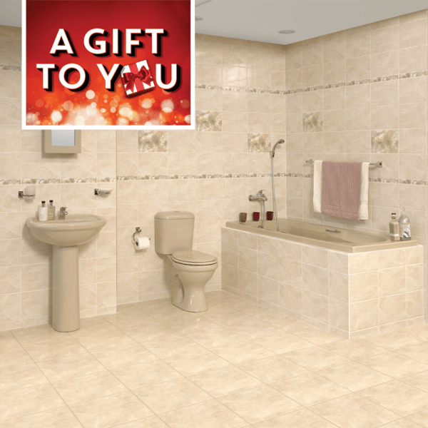 Bathroom Tiles Colour Matching : Bathroom sets ctm design