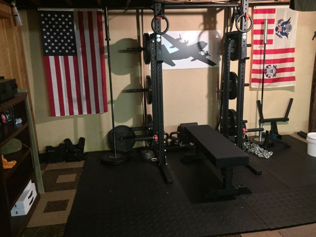 Exercise fitness home gym