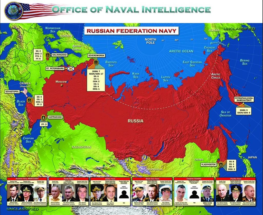For 1st time in 24 years, ONI releases unclassified report on #Russia's navy https://t.co/u1yTAwCeTT