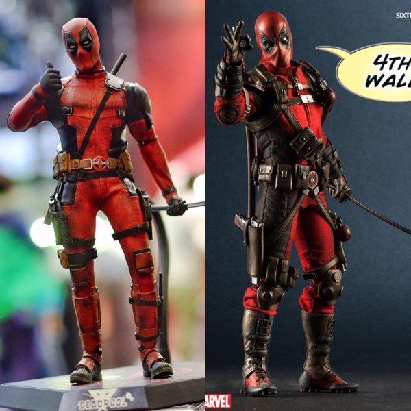 Hot Toys vs Sideshow Deadpool