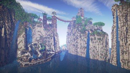 Minecraft Elven Castle 4
